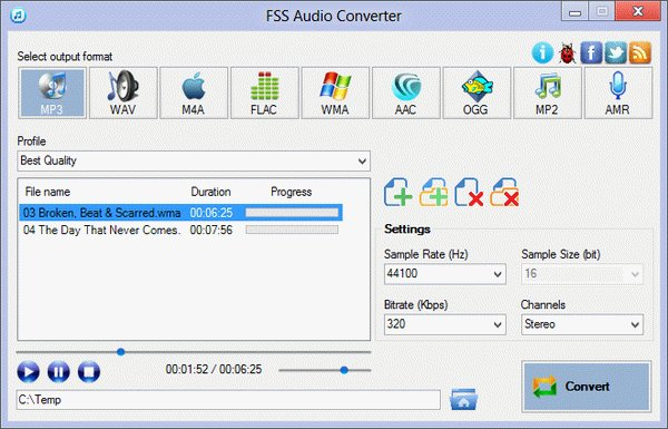 FSS Audio Converter